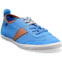Chaussures Homme Baskets basses People'Swalk 55404BLEU Bleu