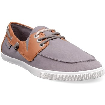 Chaussures Homme Baskets basses People'Swalk 55437GRIS Gris