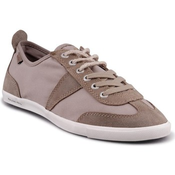 Chaussures Homme Baskets basses People'Swalk 35064MARRON TAUPE Marron