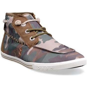 Chaussures Homme Baskets montantes People'Swalk 55434VERT CAMOUFLAGE Vert