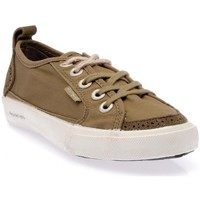 Chaussures Femme Baskets basses People'Swalk 64018VERT VERT KAKI Vert