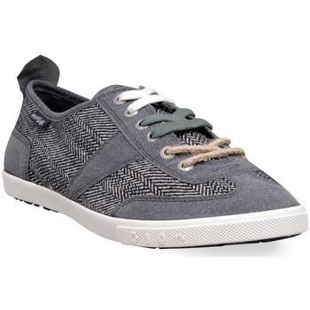 Chaussures Homme Baskets basses People'Swalk 98170GRIS NOIR Gris