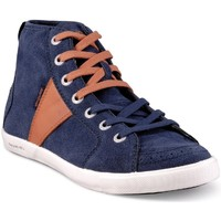 Chaussures Homme Baskets montantes People'Swalk 54804BLEU BLEU MARINE Bleu