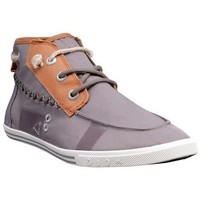 Chaussures Homme Baskets montantes People'Swalk 55434GRIS Gris