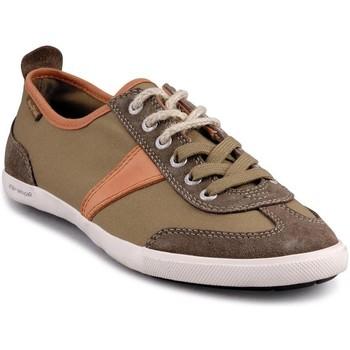 Chaussures Homme Baskets basses People'Swalk 54069VERT VERT KAKI Vert