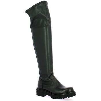 Chaussures Femme Bottes ville Pao Bottes cuir Noir