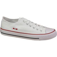 Chaussures Femme Baskets basses Smith's Trampki Smiths 1044 White Blanc