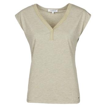 Vêtements Femme T-shirts manches courtes Morgan DMAYA Beige