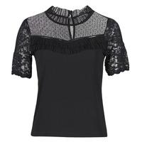 Vêtements Femme T-shirts manches courtes Morgan DANY Noir