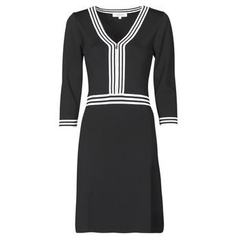 Vêtements Femme Robes courtes Morgan RMFATA Noir / Blanc