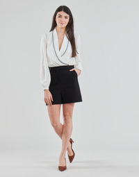 Vêtements Femme Combinaisons / Salopettes Morgan SHAMIE Noir / Blanc