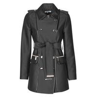 Vêtements Femme Trenchs Morgan GAZELLE Noir