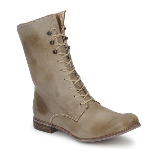 Chaussures Femme Boots Stephane Gontard REGAIN Tilleul