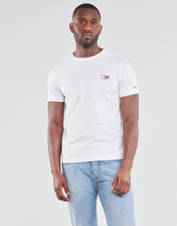 Vêtements Homme T-shirts manches courtes Tommy Jeans TJM CHEST LOGO TEE Blanc