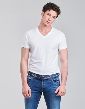 Tommy Jeans TJM ORIGINAL JERSEY TEE V NECK