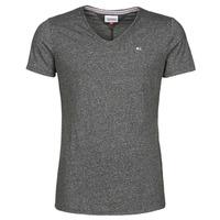 Vêtements Homme T-shirts manches courtes Tommy Jeans TJM SLIM JASPE V NECK Noir