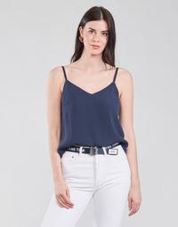 Vêtements Femme Tops / Blouses Tommy Jeans TJW CAMI TOP Marine