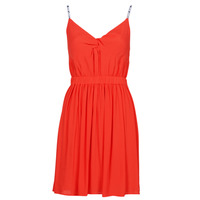 Vêtements Femme Robes courtes Tommy Jeans TJW ESSENTIAL STRAP DRESS Rouge