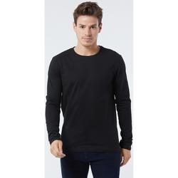 Vêtements Homme T-shirts manches longues Lee Cooper T-shirt CALVIN Black BLACK