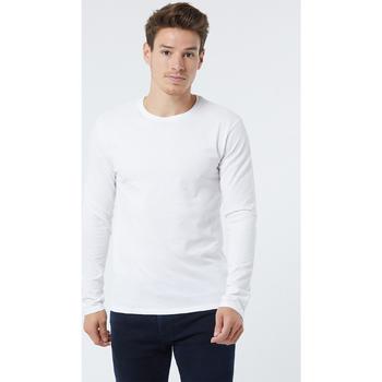 Vêtements Homme T-shirts manches longues Lee Cooper T-shirt CALVIN Black White