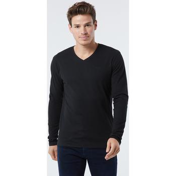 Vêtements Homme T-shirts manches longues Lee Cooper T-shirt ESSY Black BLACK