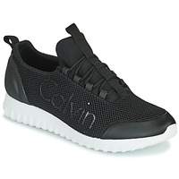 Chaussures Homme Baskets basses Calvin Klein Jeans RUNNER SNEAKER LACEUP MESH Noir