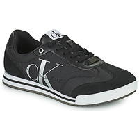 Chaussures Homme Baskets basses Calvin Klein Jeans LOW PROFILE SNEAKER LACEUP PES Noir