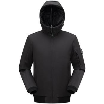Vêtements Homme Coupes vent Paragoose Doudoune Noir