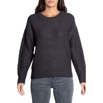 Vêtements Femme Pulls Deeluxe Pull ANGELLE Dark Grey Mel Lurex