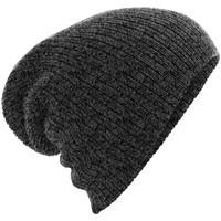 Accessoires textile Bonnets Beechfield BC449 Gris foncé chiné