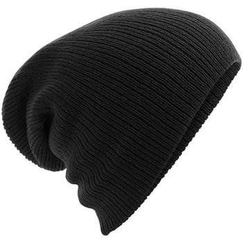 Accessoires textile Bonnets Beechfield BC449 Noir