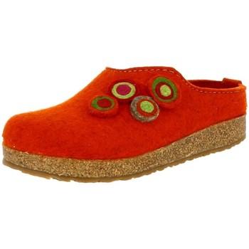 Chaussures Femme Sabots Haflinger 731023 orange
