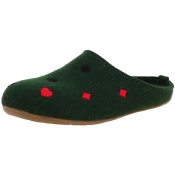 Chaussures Femme Chaussons Haflinger 484017 vert