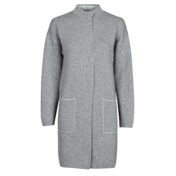 Vêtements Femme Manteaux Benetton 1132E9071-507 Gris