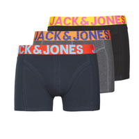 Sous-vêtements Homme Boxers Jack & Jones JACCRAZY X3 Noir / Bleu / Gris