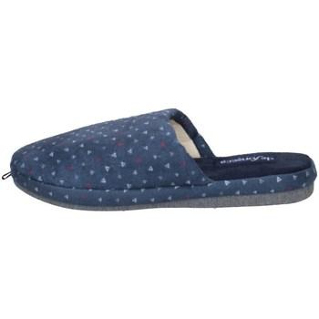 Chaussures Homme Chaussons De Fonseca ROMA TOP I M610 BLEU POINTÉ