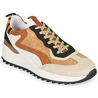 Chaussures Femme Baskets basses Ikks BS80205 Blanc / Beige