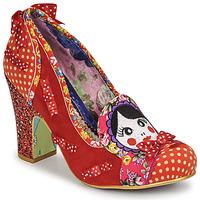 Chaussures Femme Escarpins Irregular Choice MATRYOSHKA MEMORIES Rouge