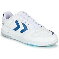 Chaussures Homme Baskets basses Hummel POWER PLAY Blanc / Bleu