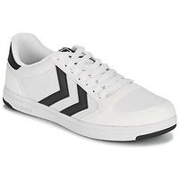 Chaussures Homme Baskets basses Hummel STADIL LIGHT CANVAS Blanc