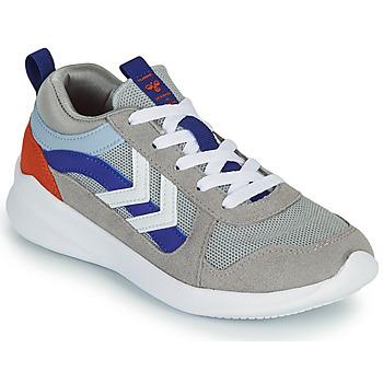 Chaussures Enfant Baskets basses Hummel BOUNCE JR Gris / Bleu