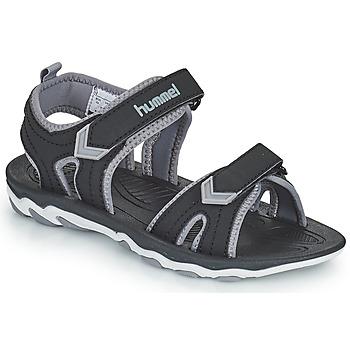 Chaussures Enfant Sandales sport Hummel SANDAL SPORT JR Noir