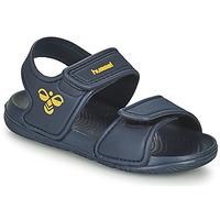 Chaussures Enfant Sandales sport Hummel PLAYA JR Bleu