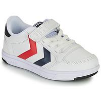 Chaussures Enfant Baskets basses Hummel STADIL LIGHT QUICK JR Blanc