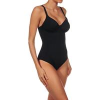 Sous-vêtements Femme Bodys Selene Body à armatures non rembourré classique Cristina Noir