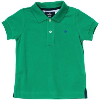 Vêtements Garçon Polos manches courtes Hackett Polo à manches courtes Vert