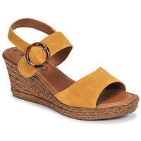 Chaussures Femme Sandales et Nu-pieds S.Oliver SAPINO Moutarde