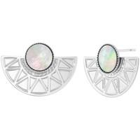 Montres & Bijoux Femme Boucles d'oreilles Sc Bohème B2507-ARGENT+E000 Argenté