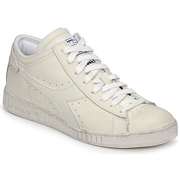 Chaussures Baskets montantes Diadora GAME L WAXED ROW CUT Blanc