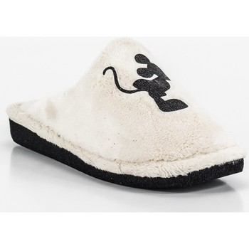Chaussures Femme Chaussons Berevere IN0508 blanc